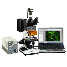 OMAX 40X-2500X Advanced EPI-Fluorescence Trinocular Biological Microscope with 1.3MP USB Digital Camera