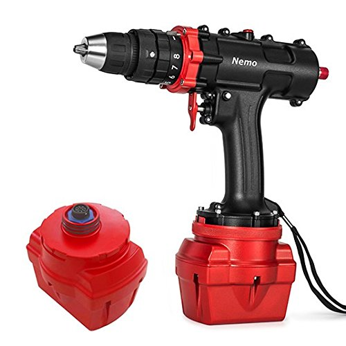 Nemo V2 DIVERS Cordless Underwater Hammer Drill (6Ah) + Leash COMBO