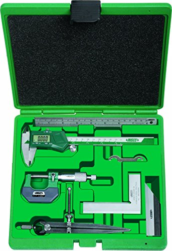 INSIZE 5062-E Measuring Tool Set, 6 Piece
