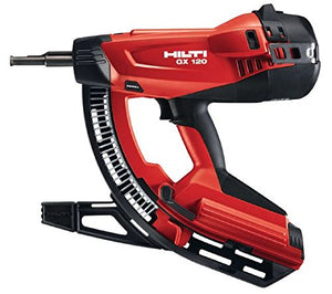 Hilti 274638 GX120 Gas Actuated Fully Automatic Fastening Nail Gun Package
