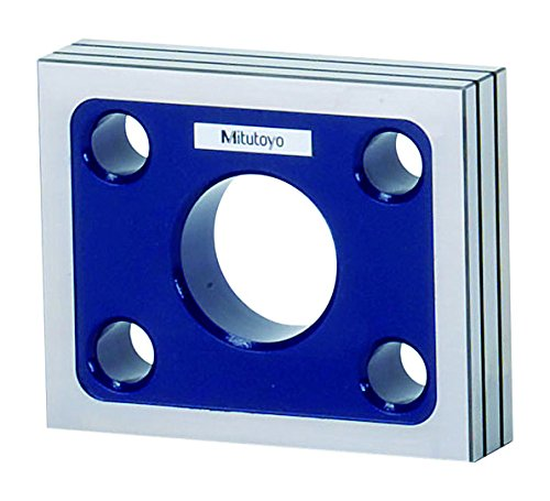 Mitutoyo 311-111 High Precision Square, 90 mm Width x 110 mm Length x 25 mm Thickness