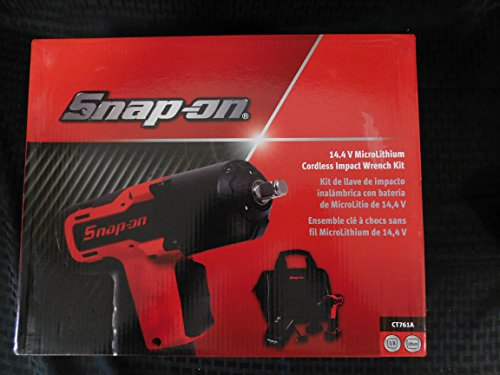 Snap-On 14.4 Volt MicroLithium Cordless Impact Wrench Kit, Part #CT761A