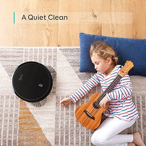 eufy BoostIQ RoboVac 11S (Slim), 1300Pa Strong Suction, Super Quiet, Self-Charging Robotic Vacuum Cleaner, Cleans Hard Floors to Medium-Pile Carpets