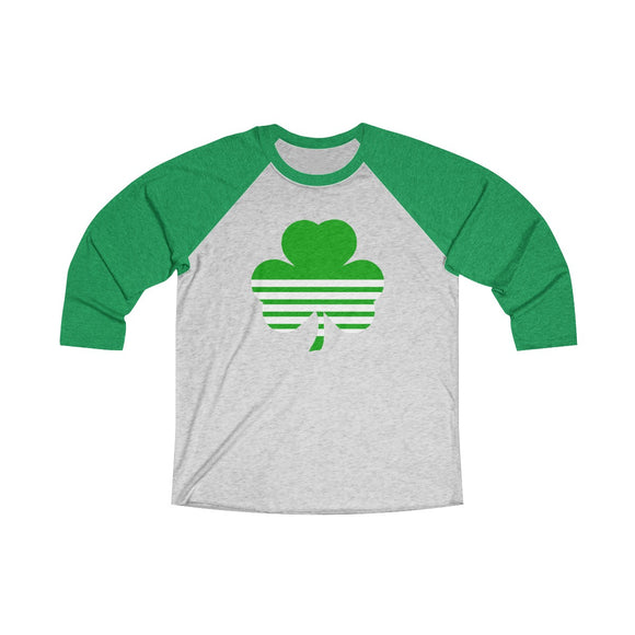 Green Clover Baseball T-Shirt