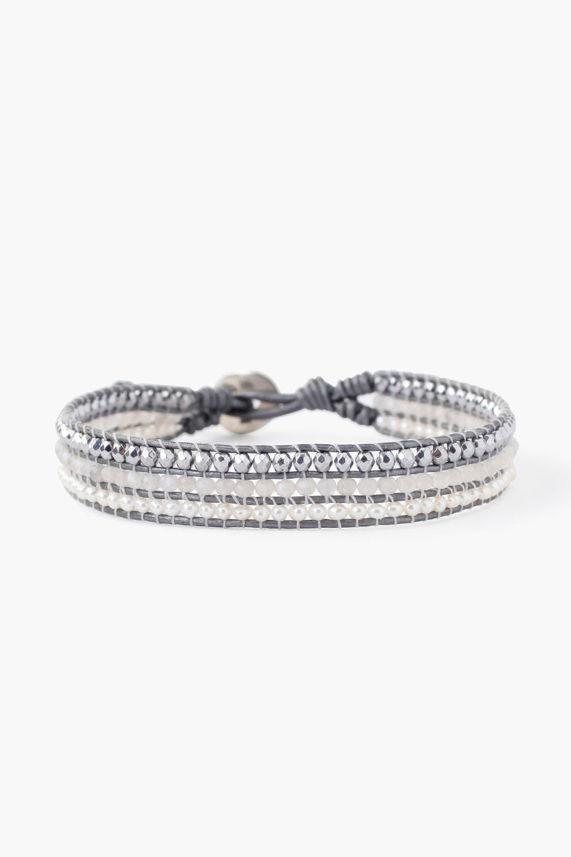 Chan Luu Single Wrap 3 Row Bracelet