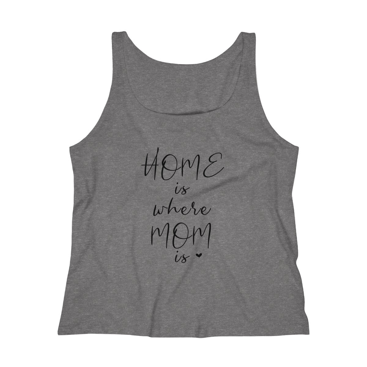 Home is Where Mom is Relaxed Jersey Tank