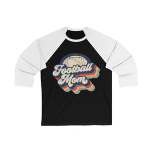 Retro Football Mom Long Sleeve
