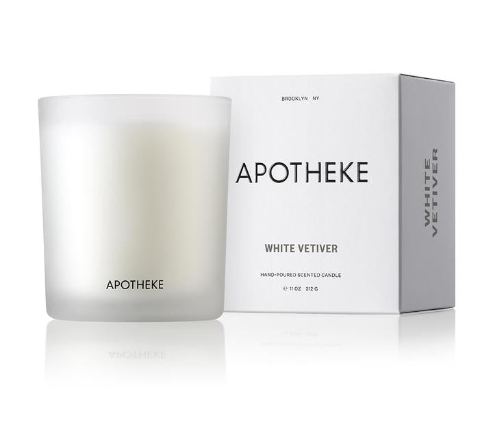 White Vetiver Candle