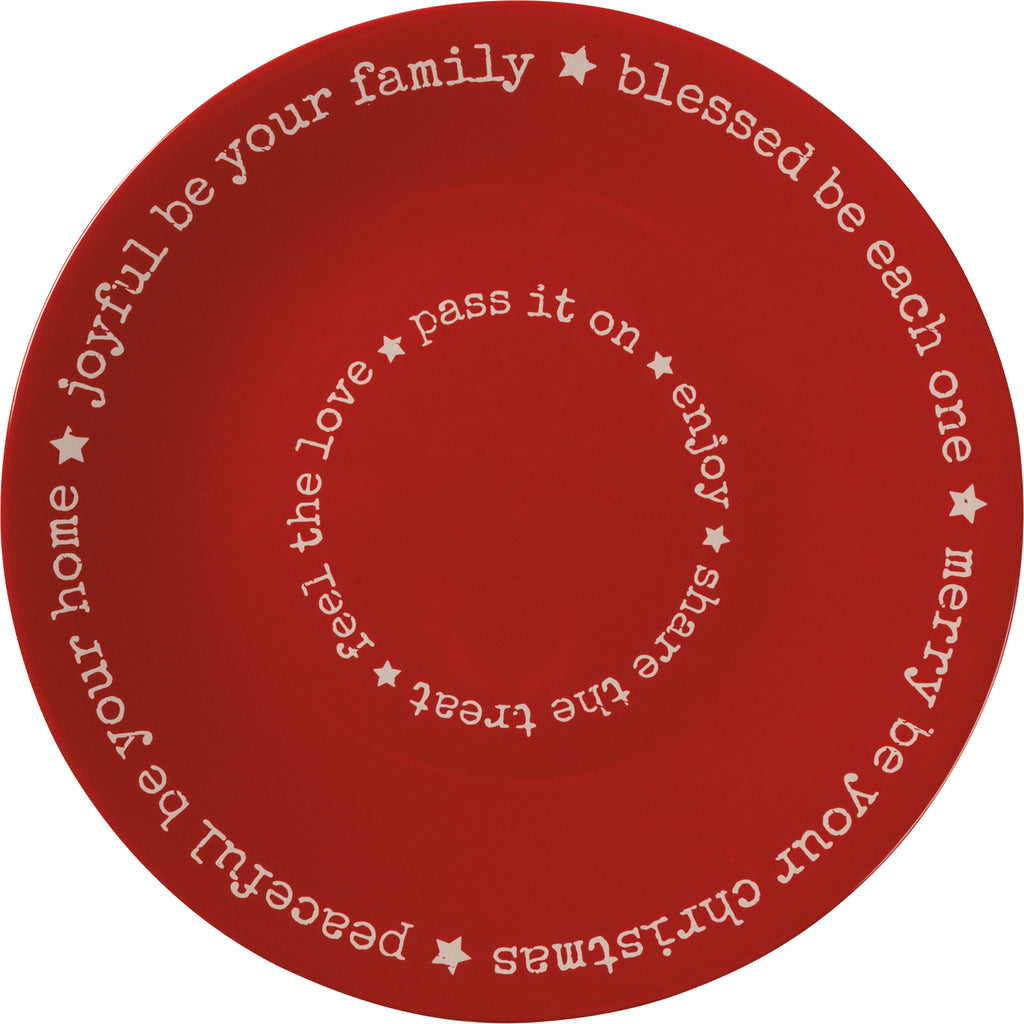 Holiday Blessings Plate