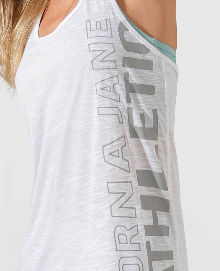 Lorna Jane Athletic Slouchy Stay @ Home Tank