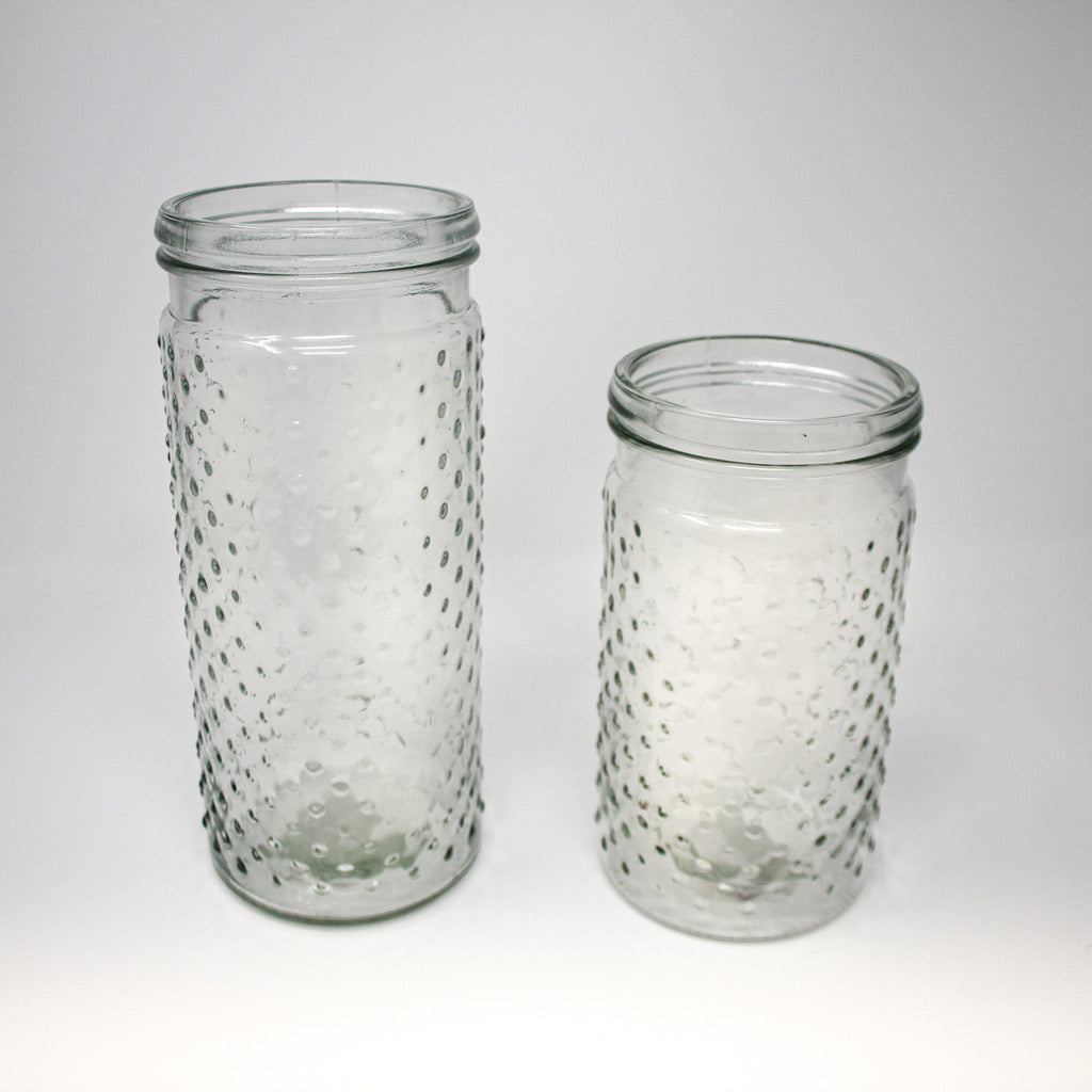 Large Hobnail Jar