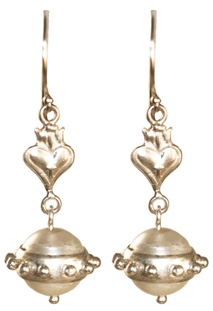 Virgin Saints & Angels Vivienne Orb Earrings