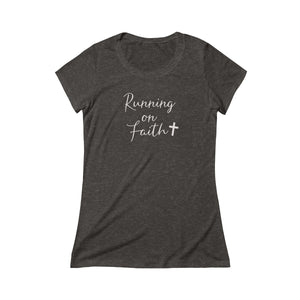 Running on Faith Women's Tee