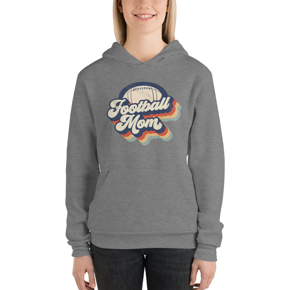 Super comfy Football Mom Hoodie