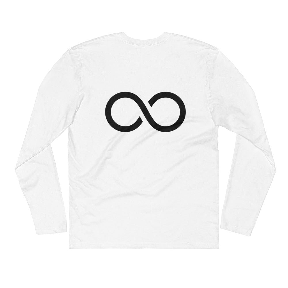 Infinity Mens Long Sleeve Fitted Crew
