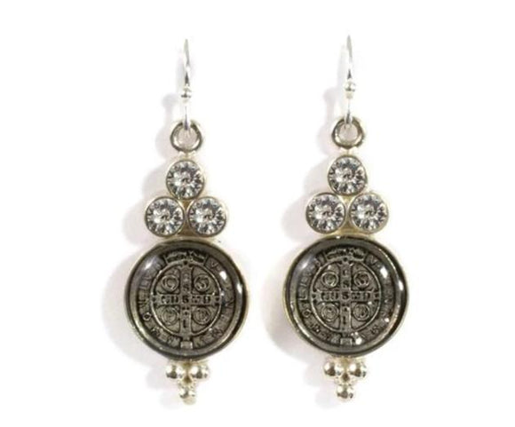 Virgin Saints & Angels San Benito Lucia Earrings
