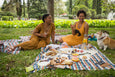ladies having picnic at the park