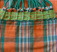 orange cotton hammock brazil maria canta