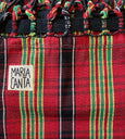 red and black plaid hammock brazilian cotton maria canta