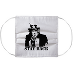 Stay Back Face Mask Covers