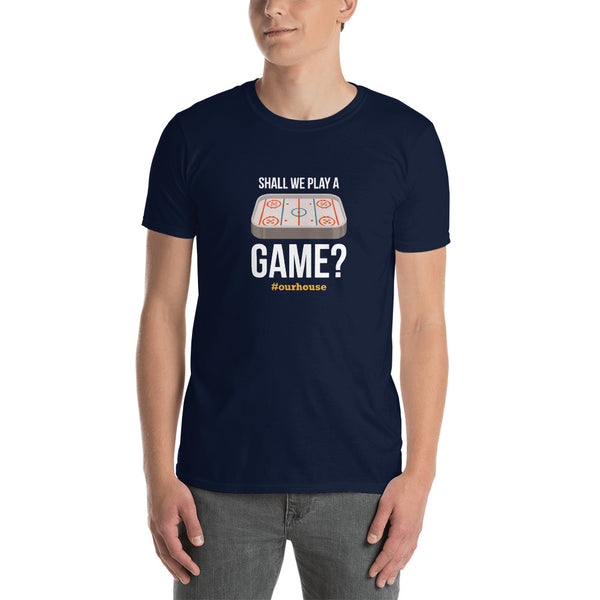 Shall We Play A Game? Short-Sleeve Unisex T-Shirt