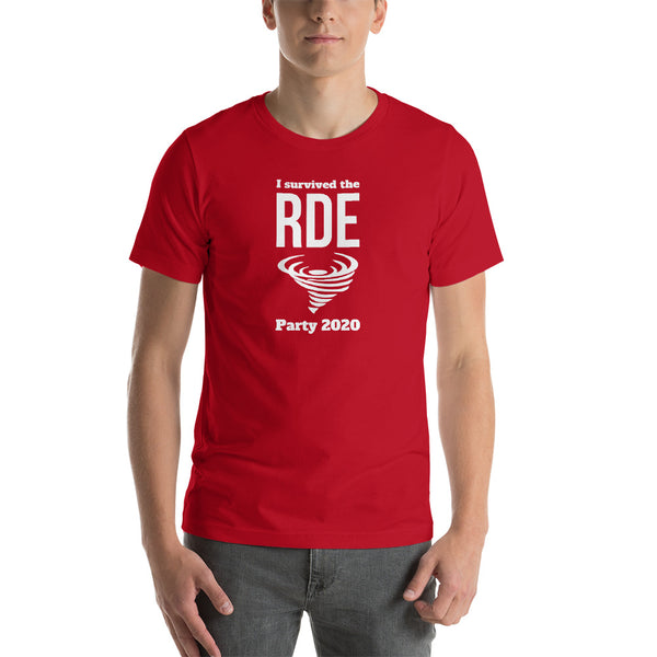 I Survived the RDE Tornado Party 2020 Short-Sleeve Unisex T-Shirt
