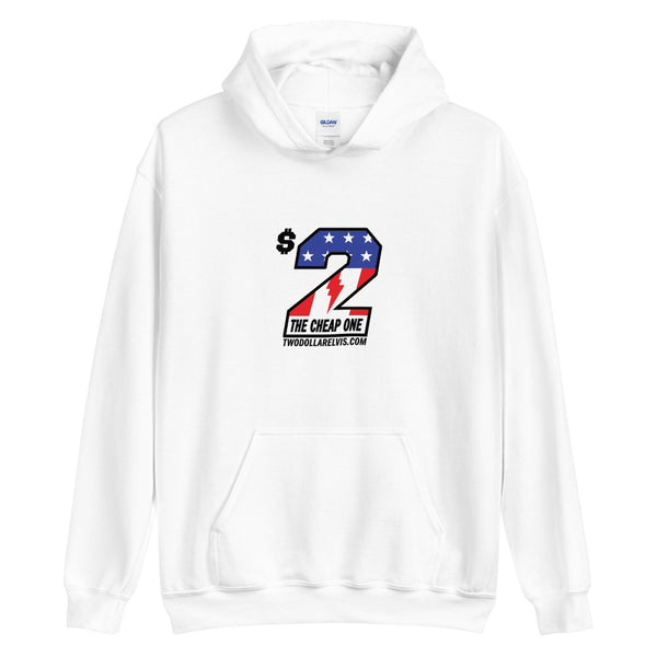 $2 Elvis - The Cheap One Unisex Hoodie