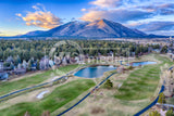 Mt Elden over Flagstaff Country Club