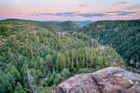 Oak Creek Canyon Sunset