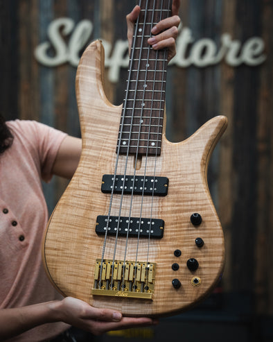 Fodera Monarch 5 Standard Special Flamed Maple