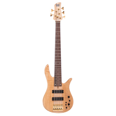 Fodera Monarch 5 Standard Special Flamed Maple Full