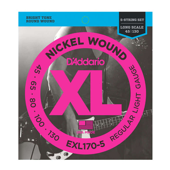 D'Addario Nickel Wound 5
