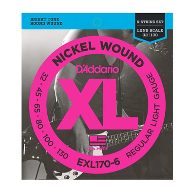 D'Addario Nickel Wound 6
