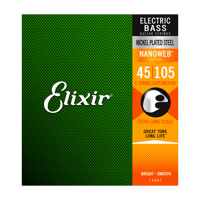 Elixir Nanoweb Nickel Plated Steel 4