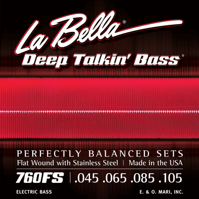 LaBella Deep Talkin' Bass Flats 4