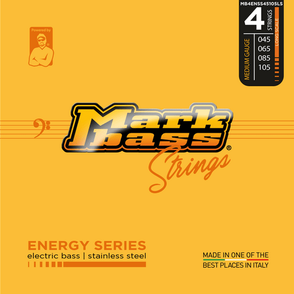 Markbass Energy Series 4 Stainless Steel (45-105)