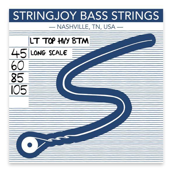 Stringjoy 4 L. Top H. Bottom (45-105)