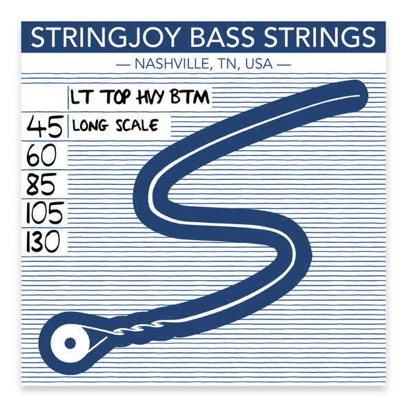 Stringjoy 5 L. Top H. Bottom (45-130)
