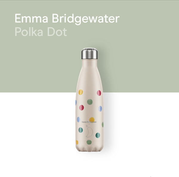 Chilly's Emma Bridgewater bottle 500ml - Polka dot