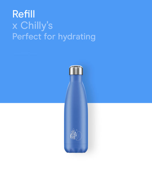 Chilly's Refill bottle 500ml - Blue