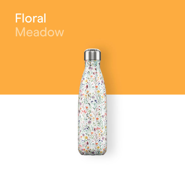 Chilly's Floral bottle 500ml - Meadow
