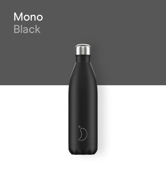 Chilly's bottle 750ml - Mono Black