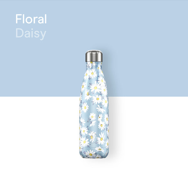 Chilly's Floral bottle 500ml - Daisy