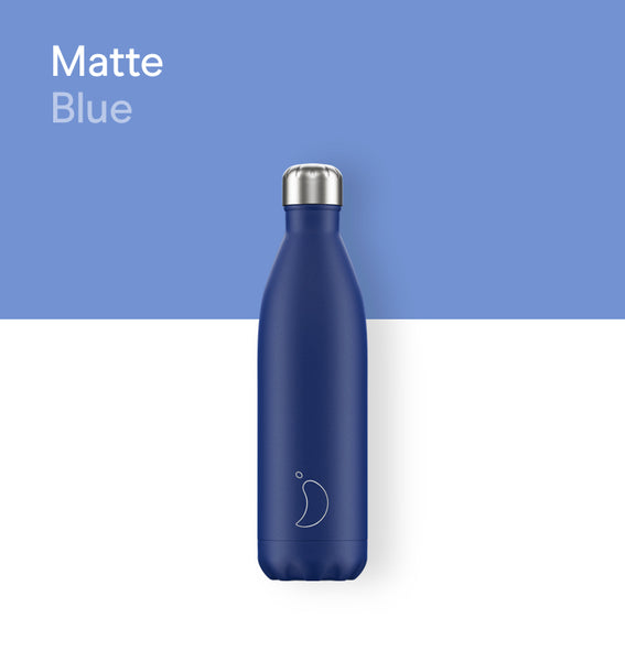 Chilly's bottle 750ml - Matte blue