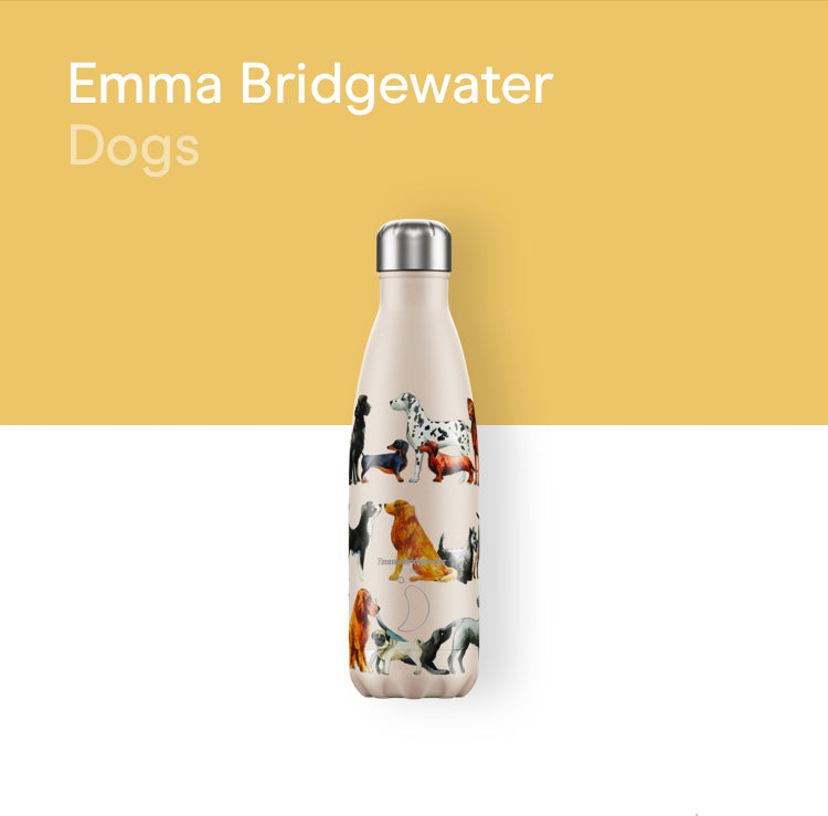 Chilly's Emma Bridgewater bottle 500ml - Dogs