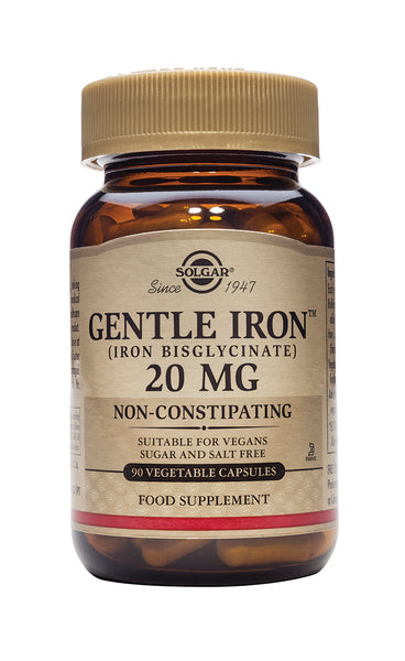 Solgar Gentle Iron(R) 20 mg VegCaps
