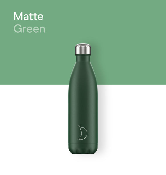 Chilly's bottle 750ml - Matte green