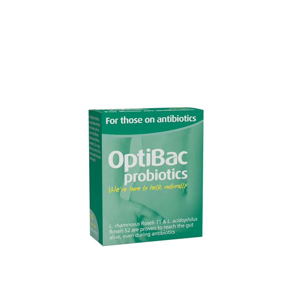 Optibac Probiotics - For Those on Antibiotics