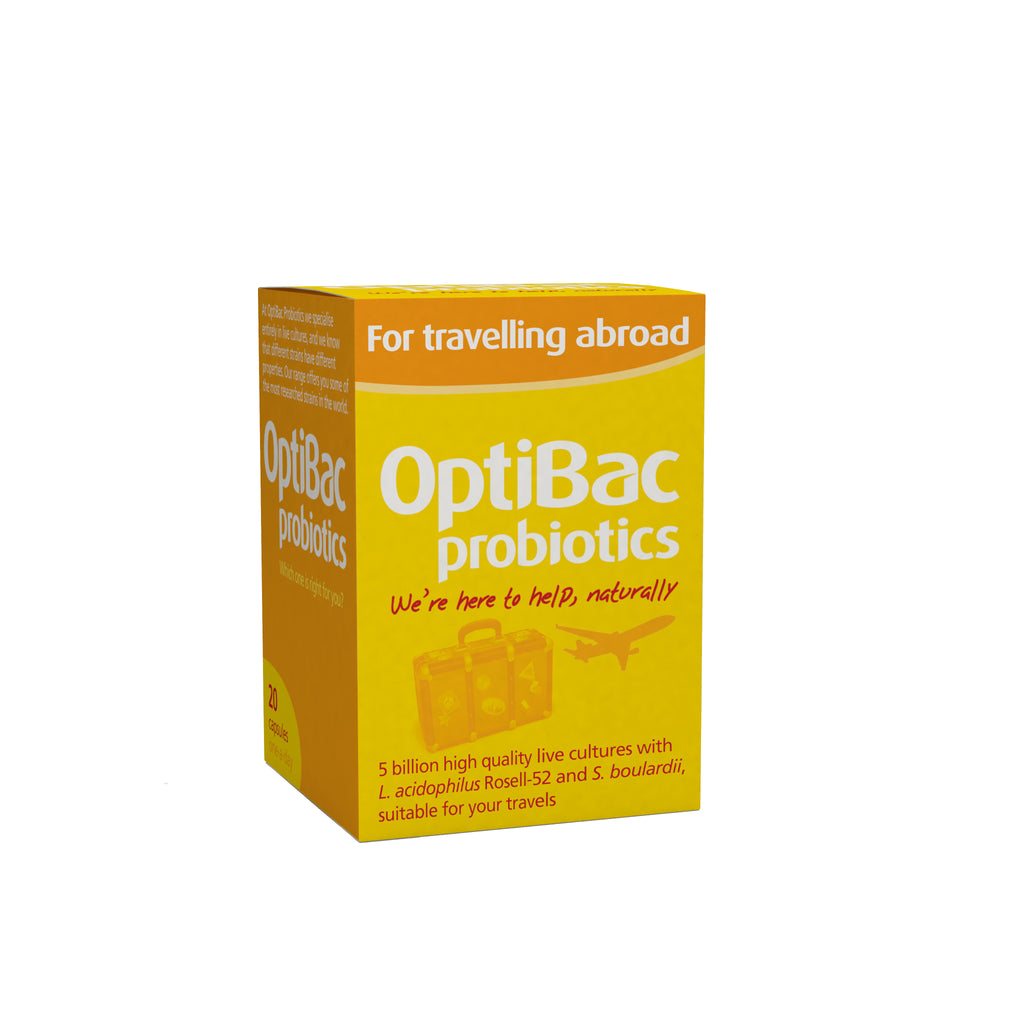 Optibac Probiotics - For Travelling Abroad