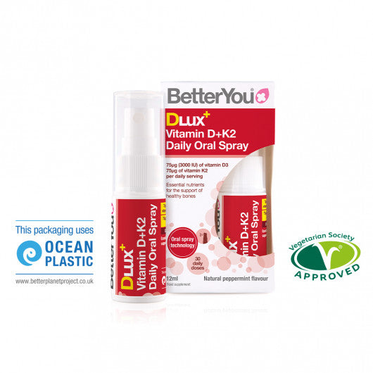 Better You DLux+ Vitamin D+K2 Oral Spray